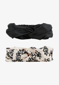 mint&berry - 2 PACK HEADBAND - Haar-Styling-Accessoires - black - 3