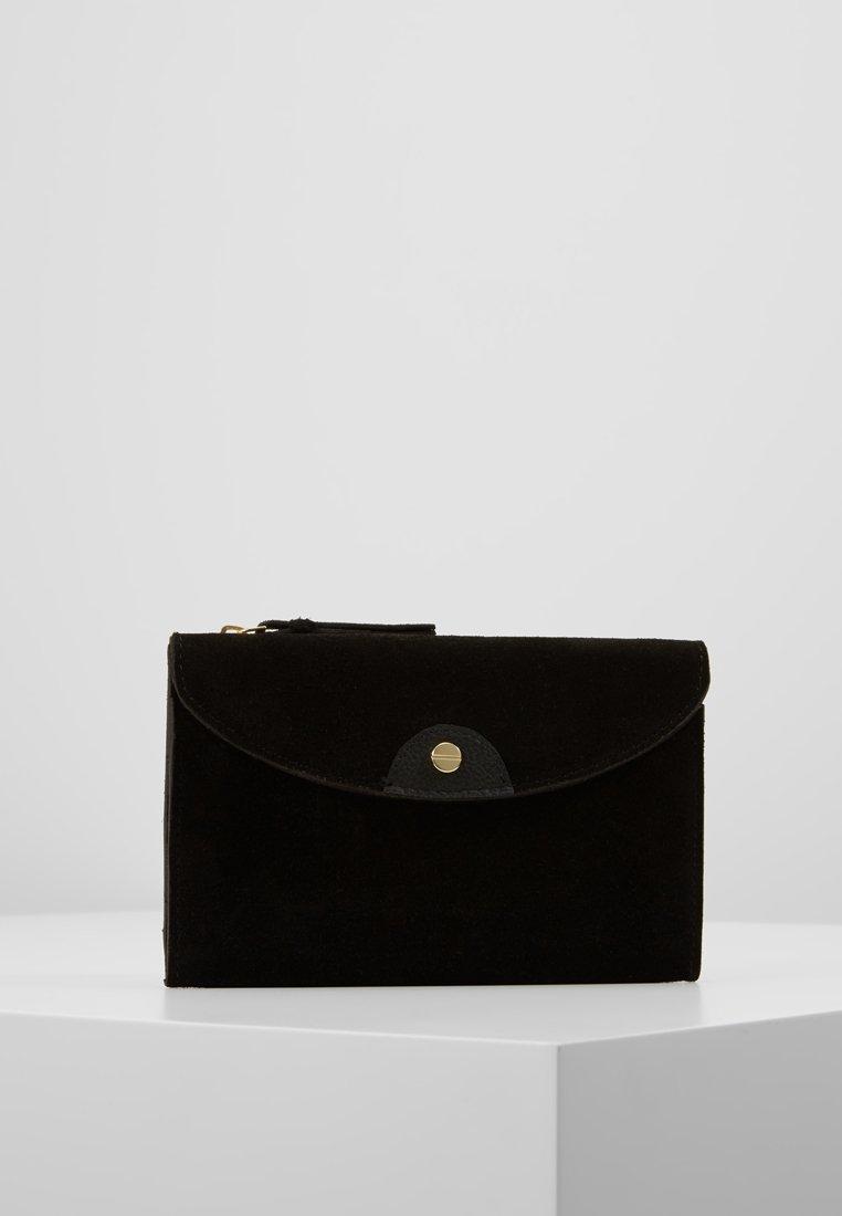 mint&berry - LEATHER - Peněženka - black