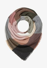 mint&berry - Scarf - khaki/rose - 1