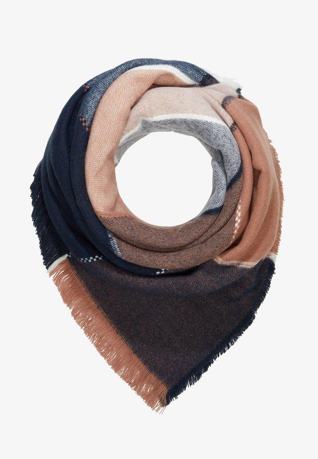 Foulard - dark blue/rose
