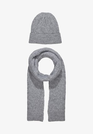 SET - Schal -  grey