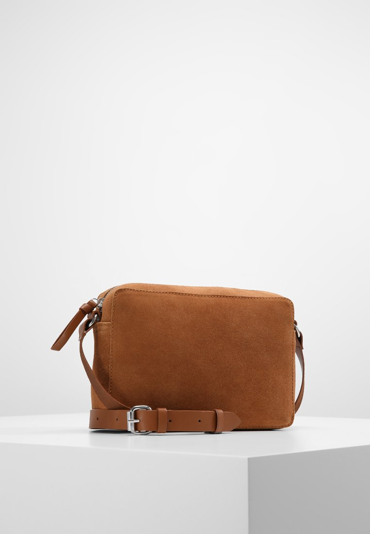 mint&berry - LEATHER - Torba na ramię - cognac