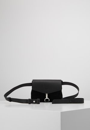LEATHER - Rumpetaske - black