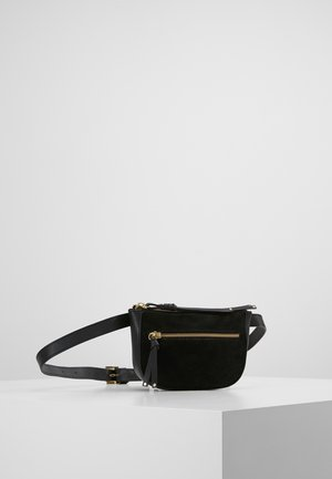 LEATHER - Saszetka nerka - black