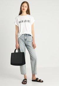 mint&berry - LEATHER - Handbag - black - 1