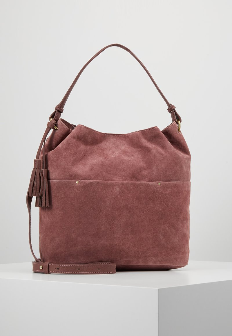 mint&berry - LEATHER - Handbag - dusty rose