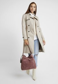 mint&berry - LEATHER - Handbag - dusty rose - 1