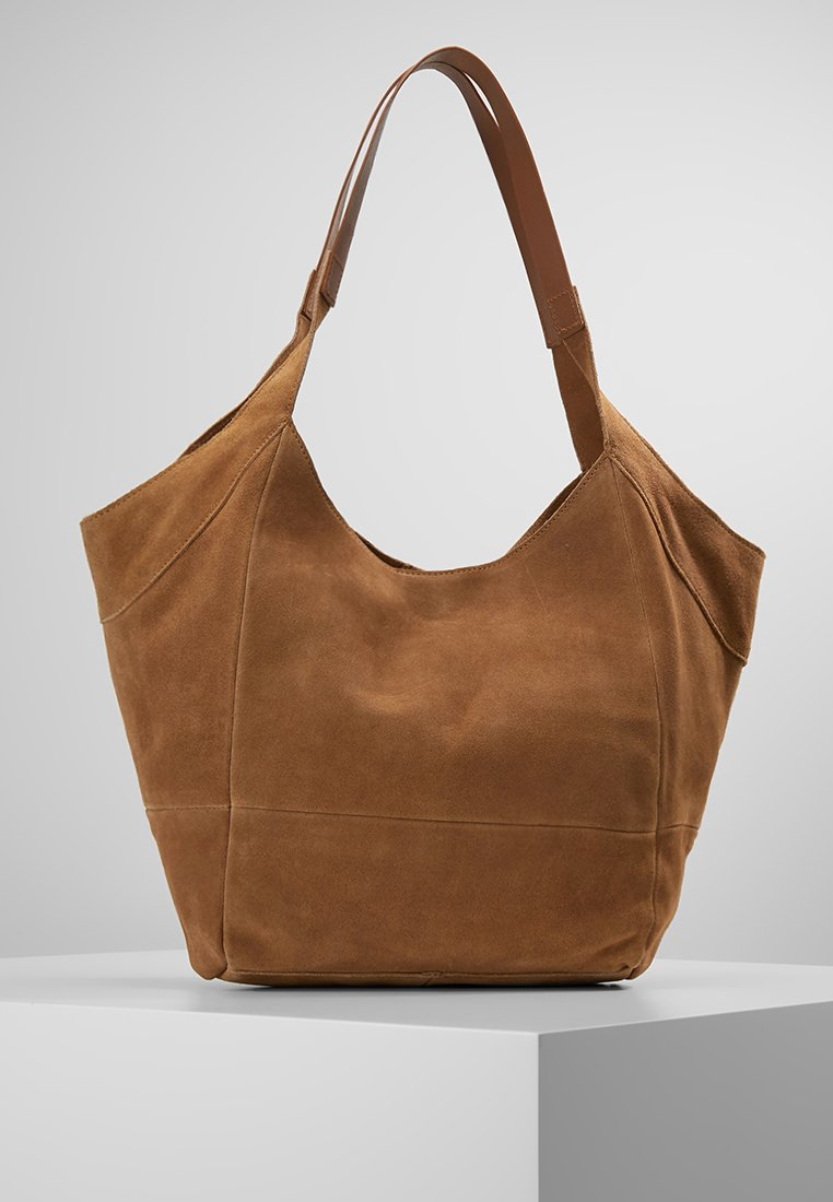 mint&berry - Shopping Bag - cognac