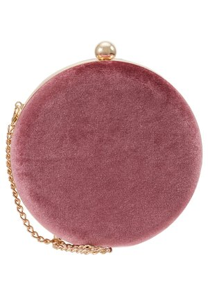LEATHER - Clutch - dusty rose