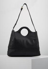 mint&berry - LEATHER - Across body bag - black - 0