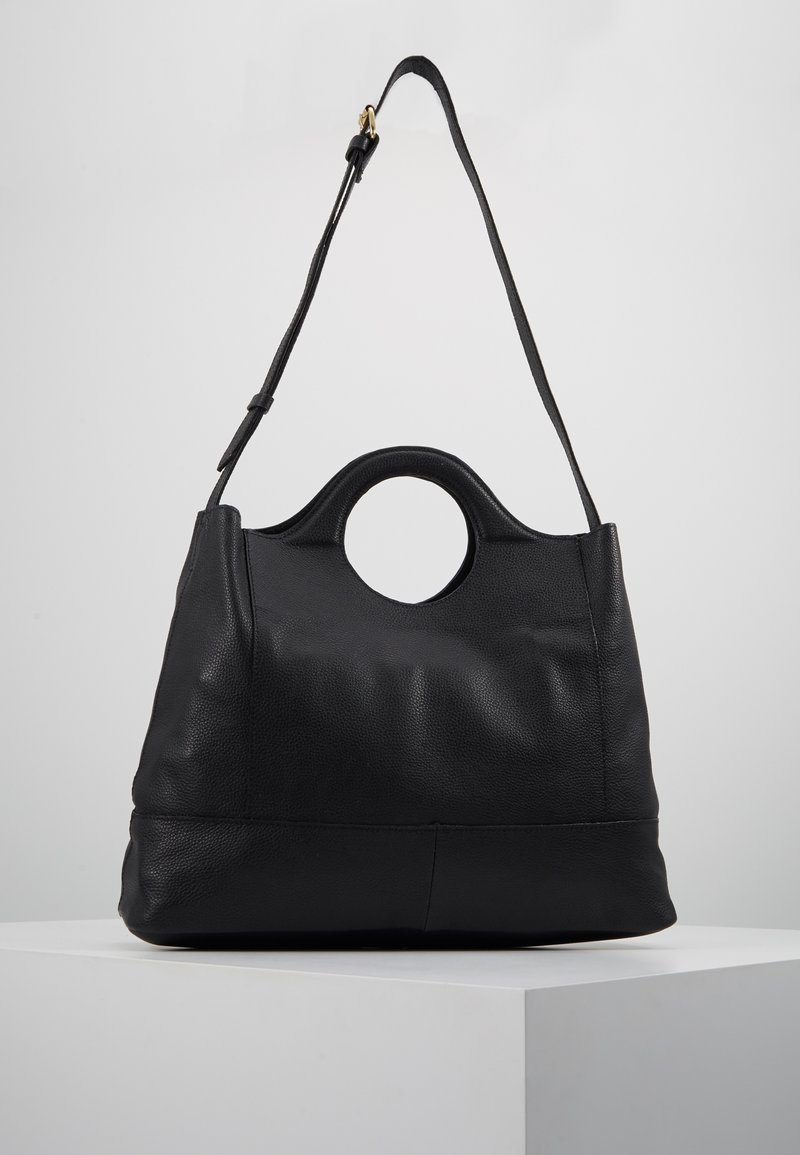 mint&berry - LEATHER - Across body bag - black