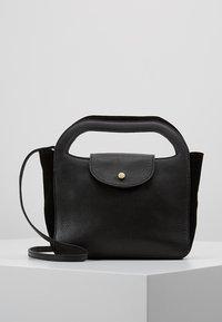 mint&berry - LEATHER - Handbag - black - 0