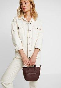 mint&berry - LEATHER - Handbag - burgundy - 1