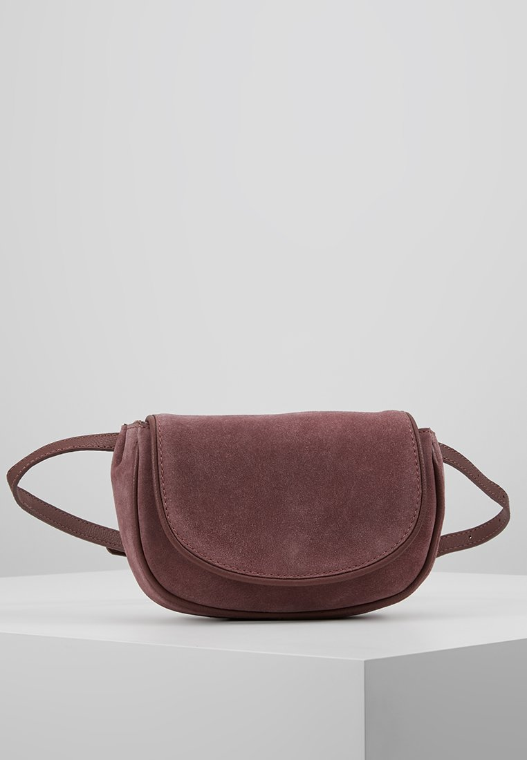 mint&berry - LEATHER - Bum bag - dusty rose