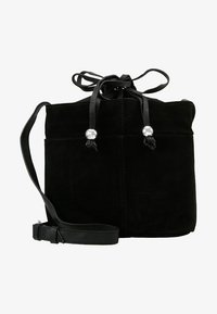 mint&berry - LEATHER - Across body bag - black - 5