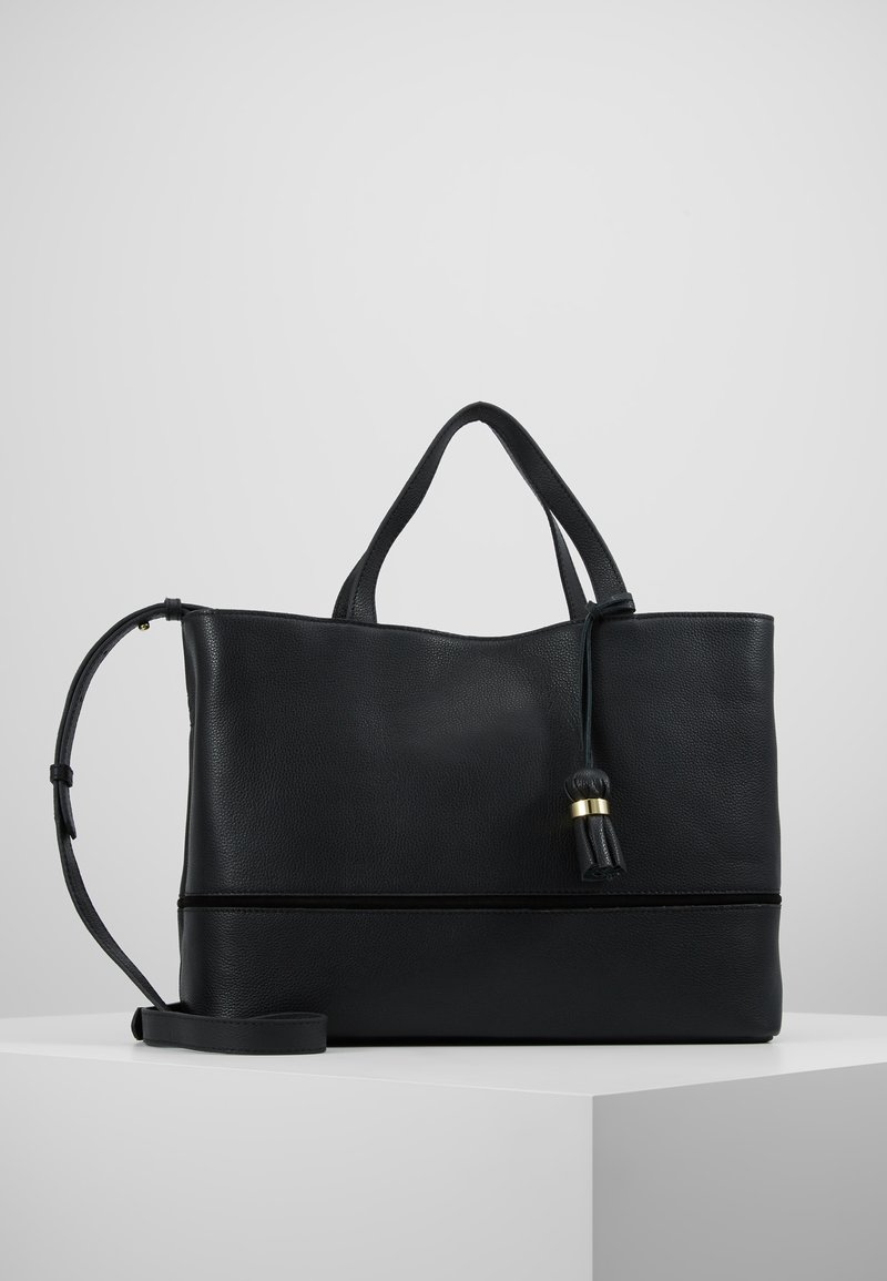mint&berry - LEATHER - Briefcase - black