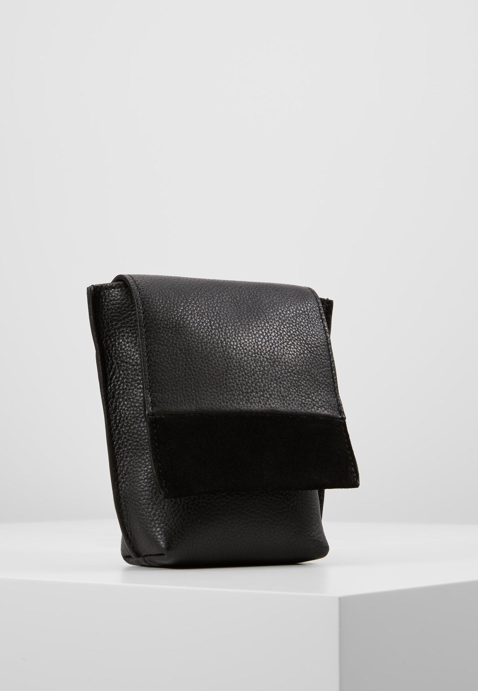 Mint&berry Leather - Sac Bandoulière Black