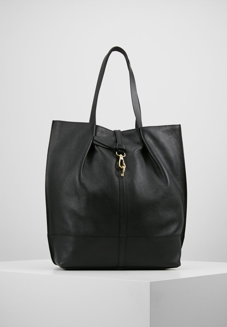 mint&berry - LEATHER - Shopping Bag - black