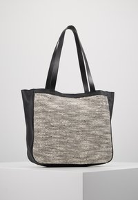 mint&berry - LEATHER - Tote bag - black - 2