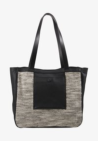 mint&berry - LEATHER - Tote bag - black - 5