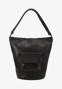 mint&berry - LEATHER - Handbag - black - 5
