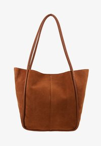 mint&berry - LEATHER - Tote bag - cognac - 5