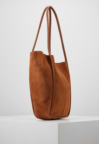 mint&berry - LEATHER - Tote bag - cognac - 3