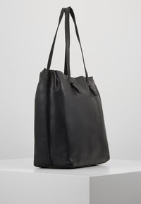 mint&berry - LEATHER - Shopping bag - black - 3