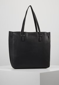 mint&berry - LEATHER - Shopping bag - black - 2