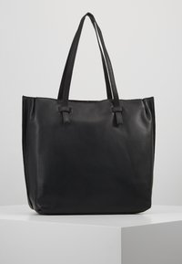 mint&berry - LEATHER - Shopping bag - black - 0