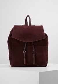 mint&berry - LEATHER - Rucksack - purple - 0