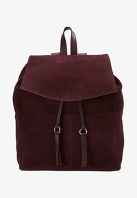 mint&berry - LEATHER - Rucksack - purple - 5