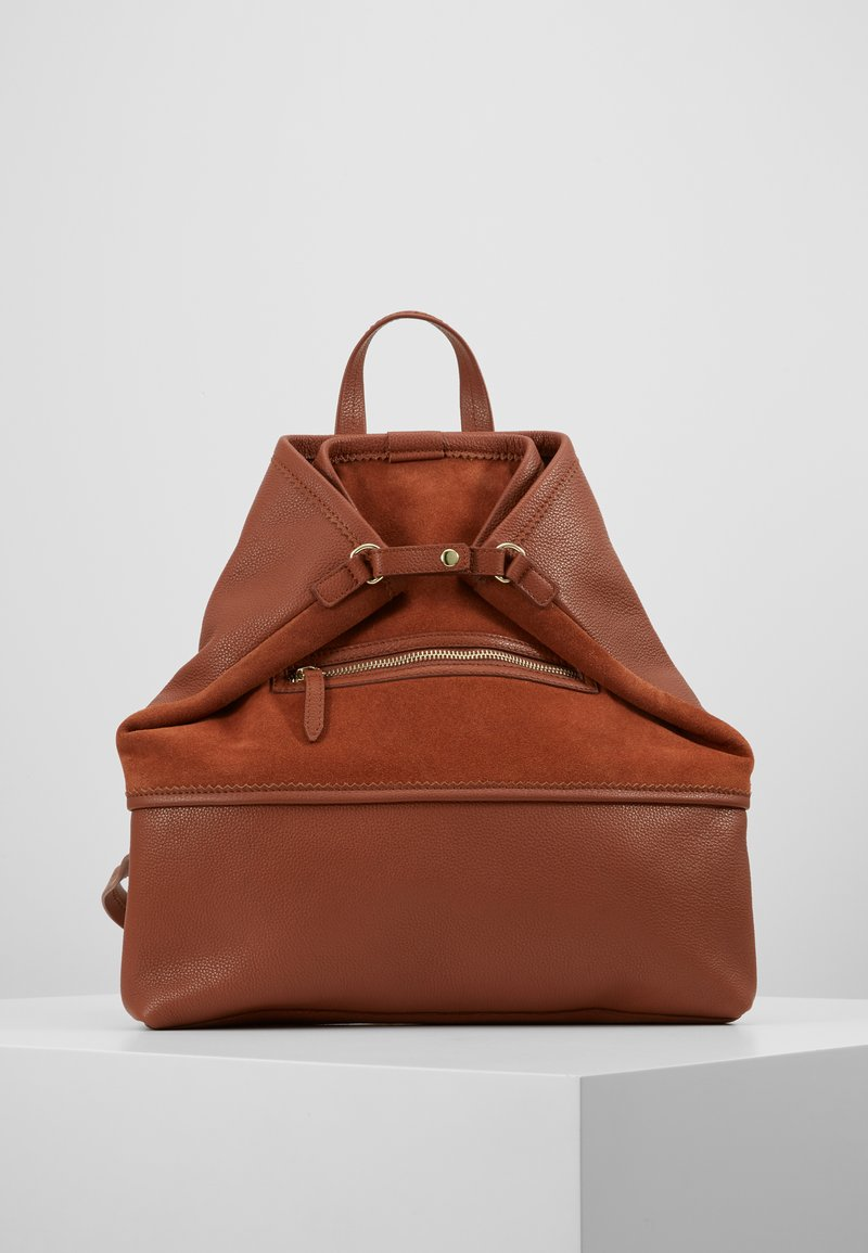mint&berry - LEATHER - Reppu - dark cognac