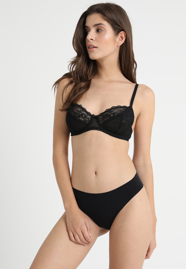 mint&berry - 2 PACK - Balconette BH - black/nude