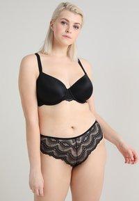 mint&berry - 2 PACK - T-shirt bra - black/nude - 0