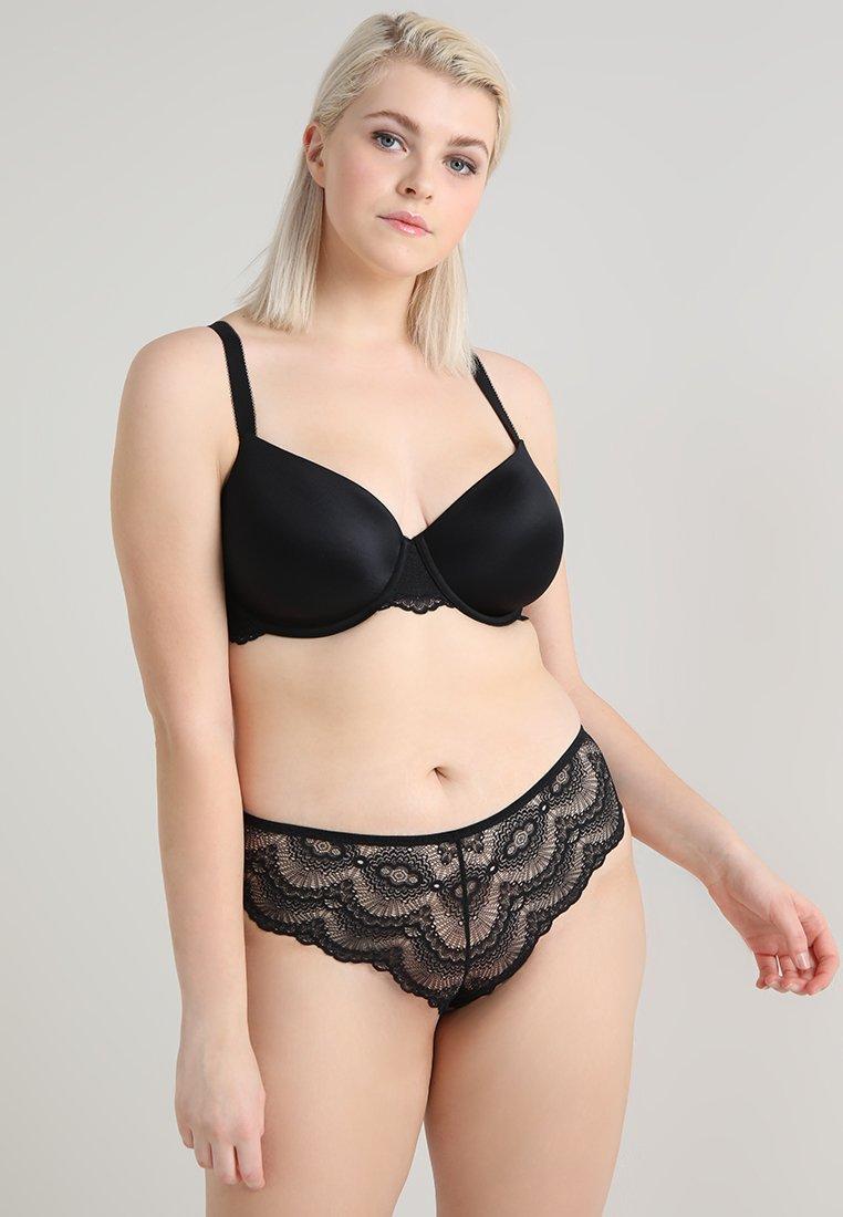 mint&berry - 2 PACK - T-shirt bra - black/nude
