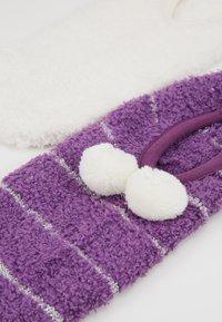 mint&berry - 2 PACK - Sokken - off-white/purple - 2