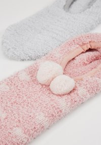 mint&berry - 2 PACK - Socks - grey/pink - 2