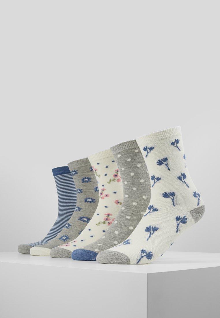 mint&berry - 5 PACK - Socks - blue/grey/white