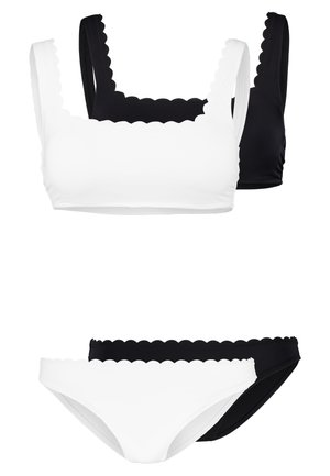 SET 2 PACK - Bikini - white/black