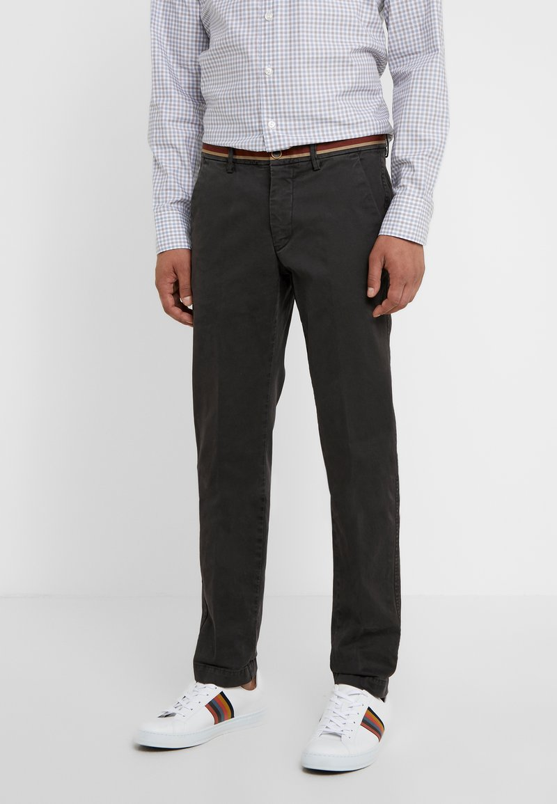 Mason's - TORINO WINTER - Chinos - anthracite