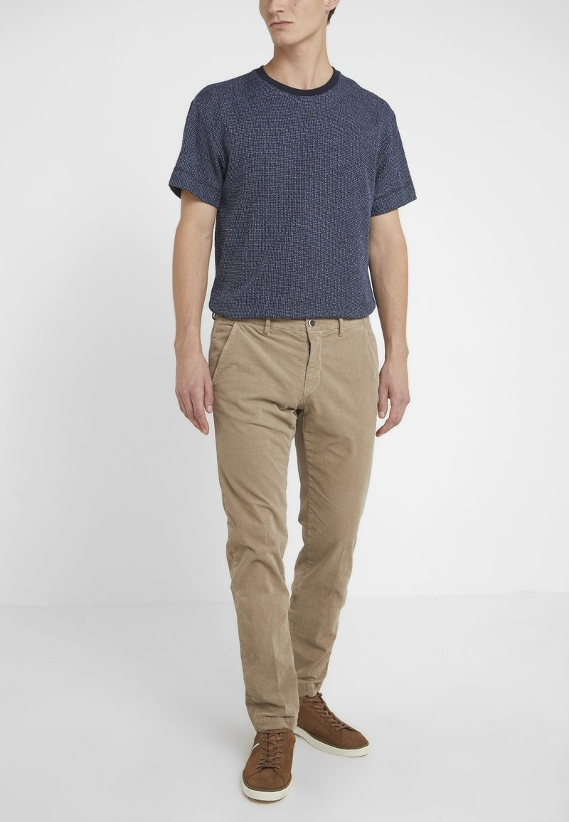 Mason's - TORINO - Trousers - beige