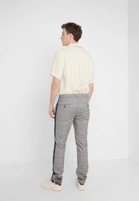 Mason's - TOSCANA JOGGER - Trousers - grey/blue - 2