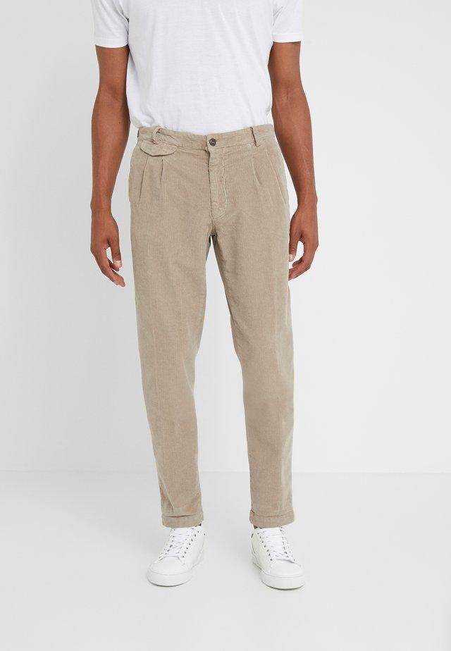 AMALFI - Spodnie materiałowe - beige