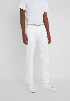 TORINO ELEGANCE - Chino kalhoty - white
