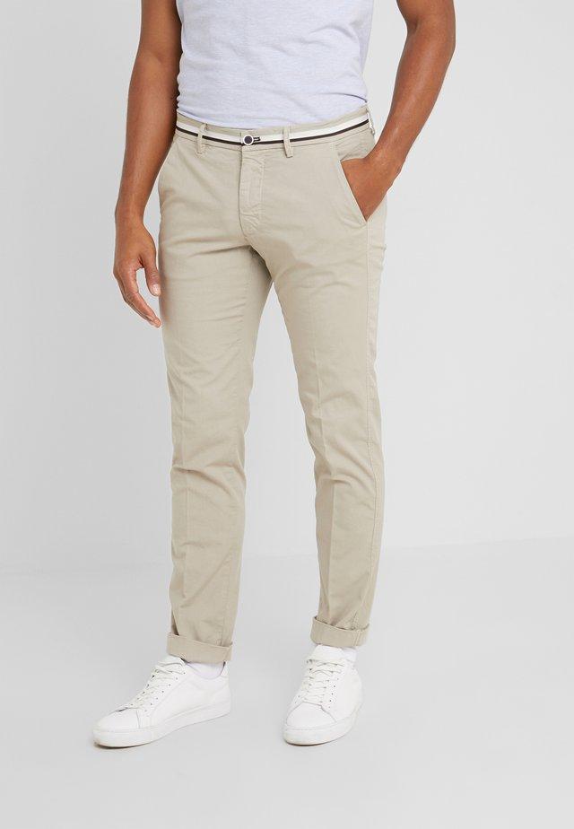 TORINO SUMMER - Spodnie materiałowe - beige