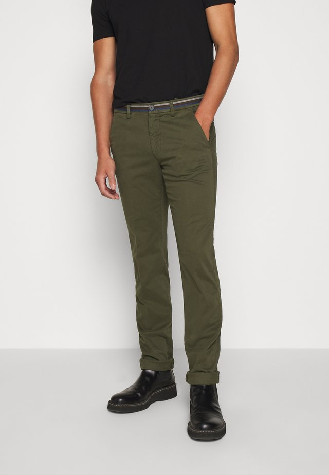 TORINO WINTER - Chino - dark green