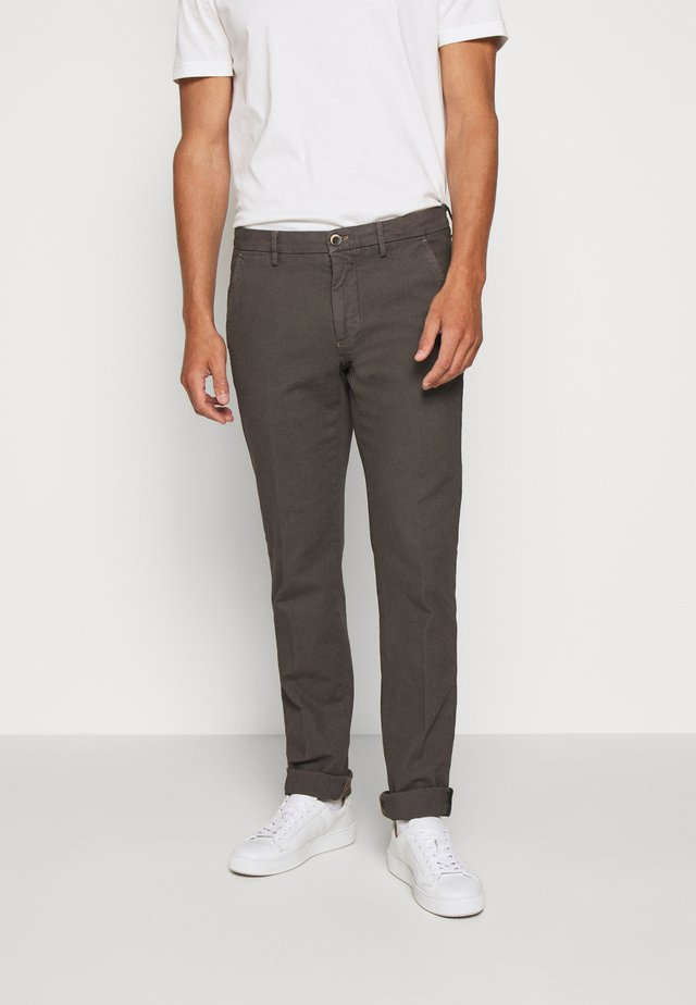 TORINO STYLE - Trousers - anthracite