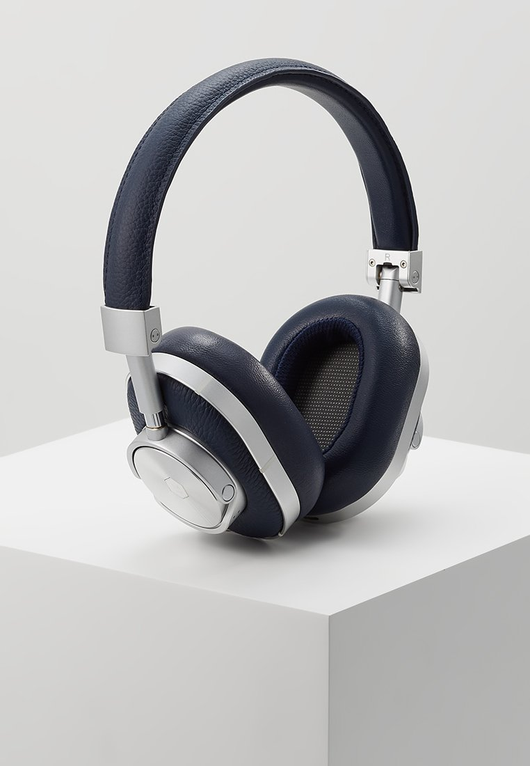 Master & Dynamic - MW60 WIRELESS OVER-EAR - Headphones - navy/silver-coloured