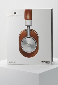 Master & Dynamic - MW60 WIRELESS OVER-EAR - Auriculares - brown/silver-coloured - 4